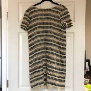 Zara tweed dress size s
